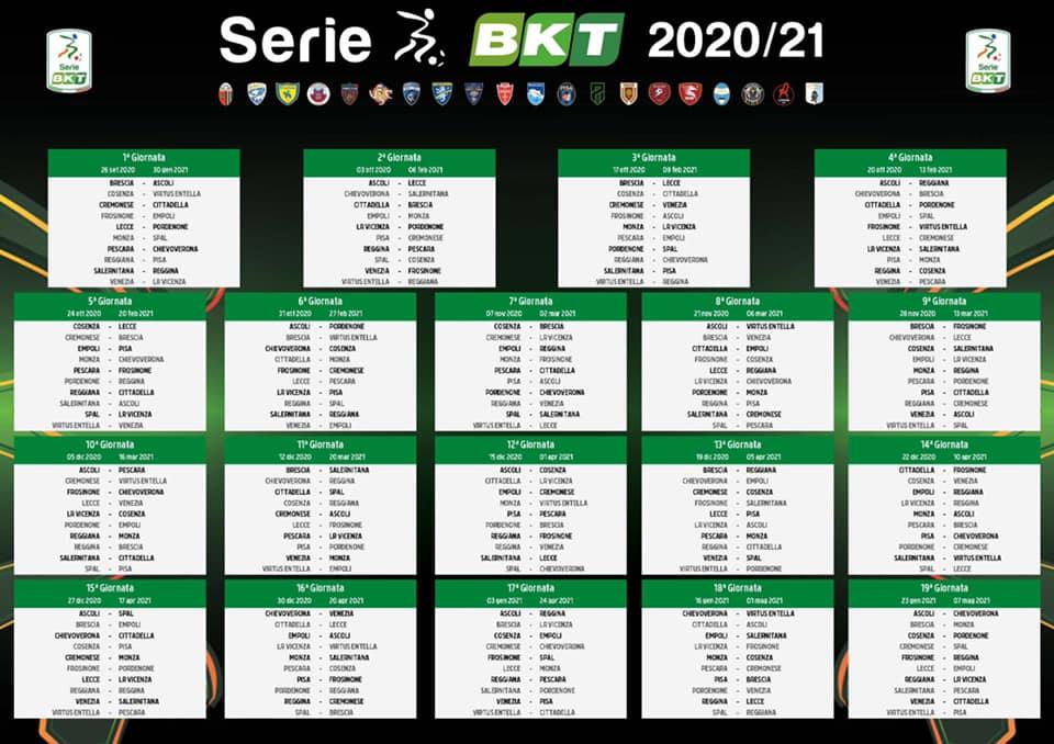 Ascoli Calcio, Calendario serie B subito in salita per i